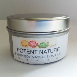 Earth Soy Massage Candle