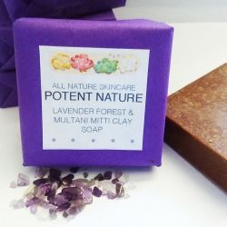 Lavender Forest and Multani Mitti Clay Soap