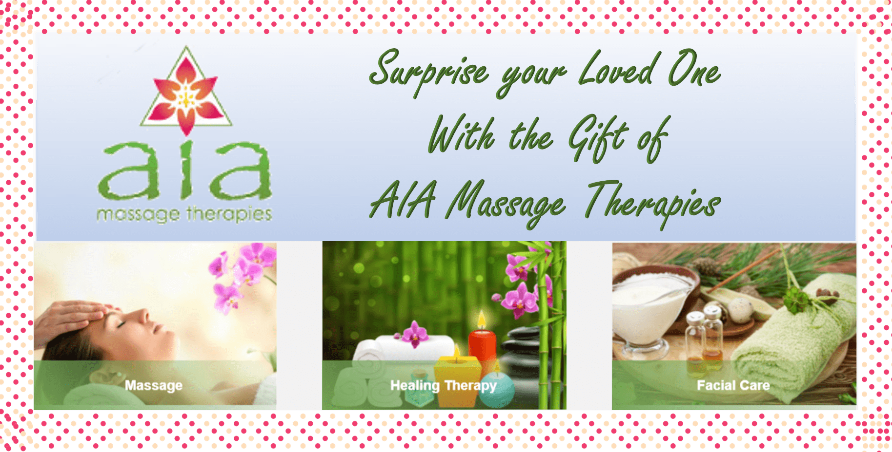 Surprise a loved one, or yourself with a gift certificate. We offer this, currently, at my location to purchase, or you can send a check or arrange to pay ...